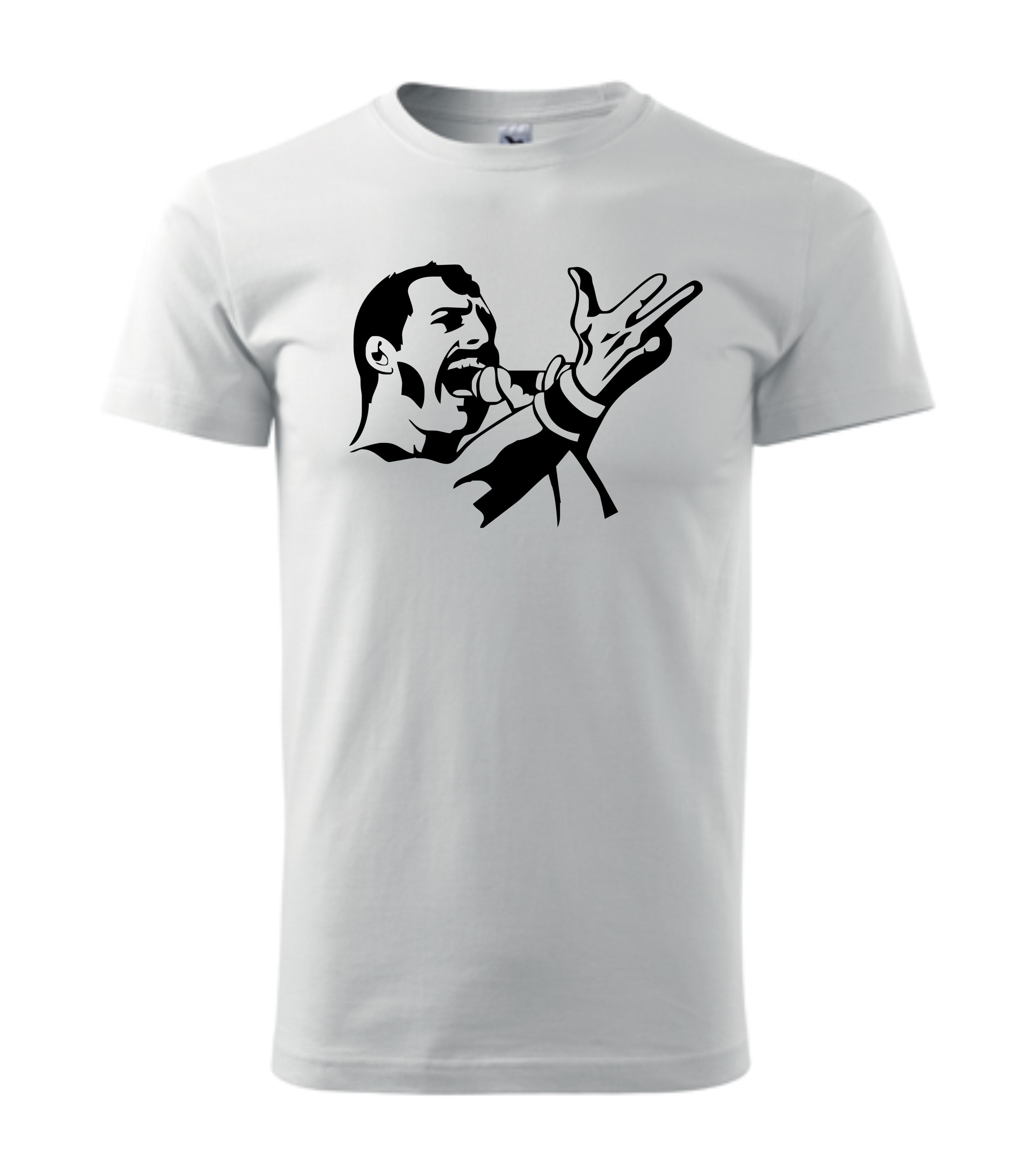 Imagine produs TRICOU PERSONALIZAT ROCK FREDDIE