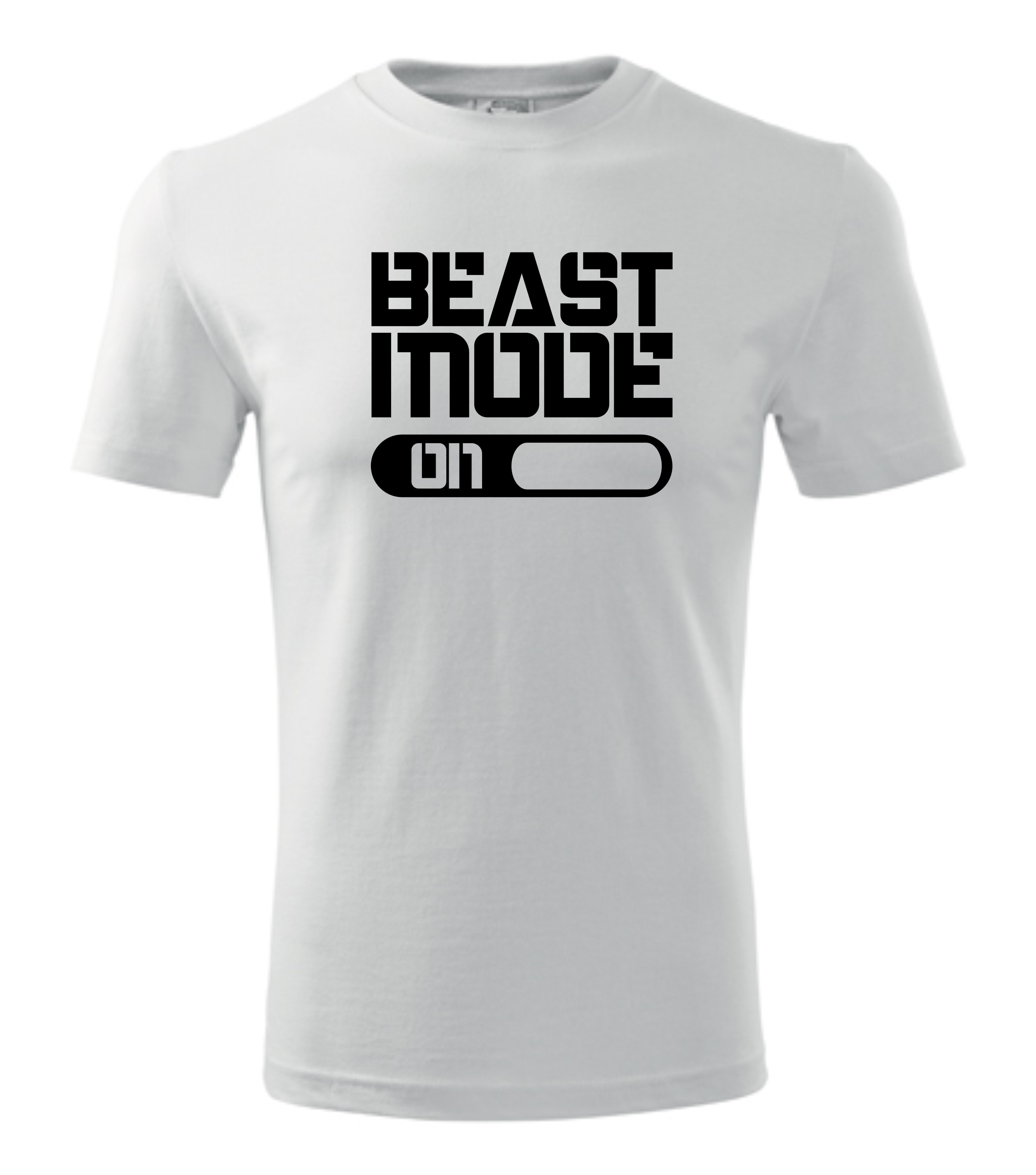 Imagine produs TRICOU PERSONALIZAT BARBATI BEAST MODE