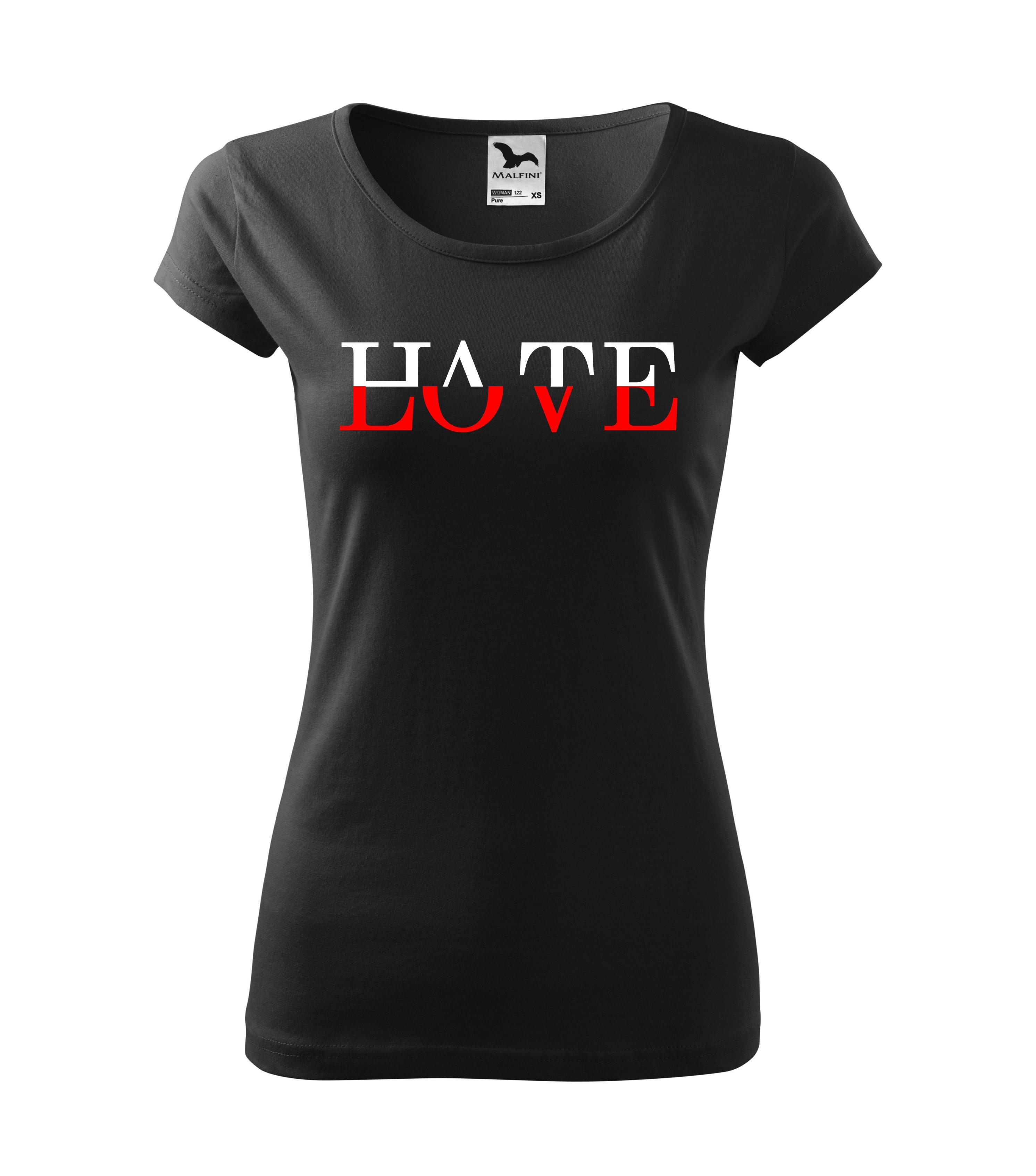Imagine produs TRICOU PERSONALIZAT CUPLU LOVE & HATE